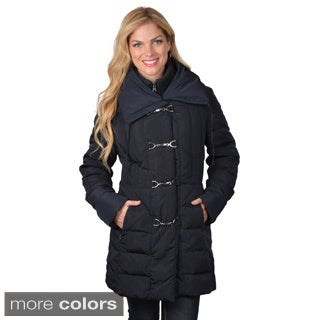 Jessica Simpson Women's Toggle Closure Down Coat