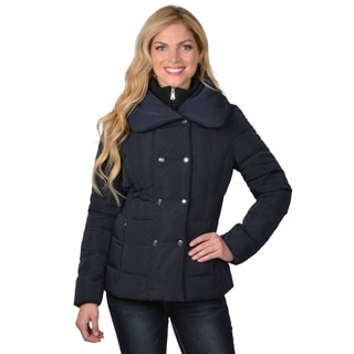 Jessica Simpson Women's Double Breasted Down Coat