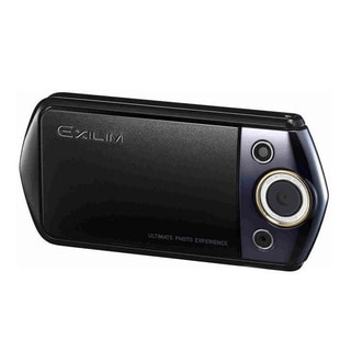 Casio Exilim EX-TR15 Wi-Fi 12.1MP Black Digital Camera
