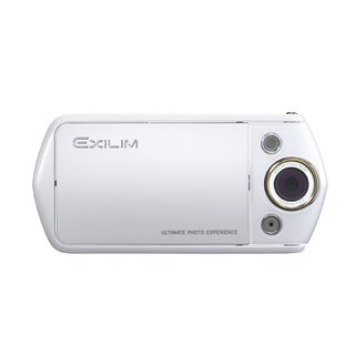 Casio Exilim EX-TR15 Wi-Fi 12.1MP White Digital Camera