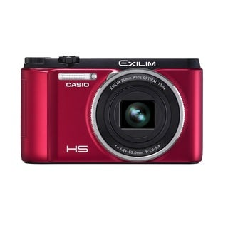 Casio Exilim EX-ZR1000 16.1MP Red Digital Camera