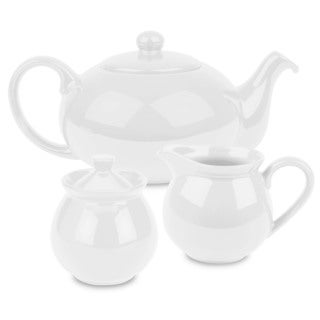 Waechtersbach Fun Factory White 3-piece Tea Set