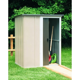 Arrow Brentwood 5x4-foot Steel Storage Shed