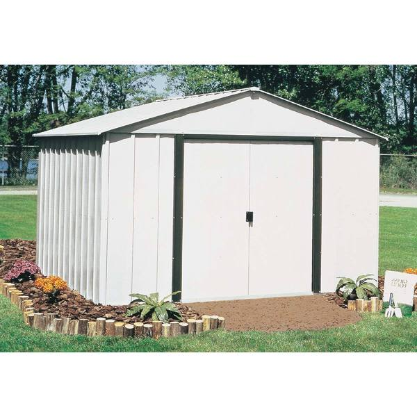 Arrow Arlington 10x8-foot Steel Storage Shed