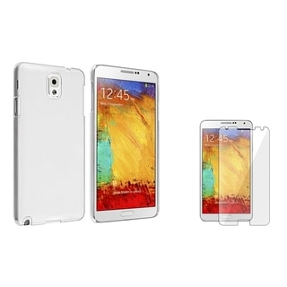BasAcc Crystal Case/ LCD Protector for Samsung Galaxy Note III N9000