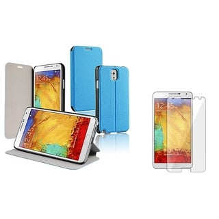 BasAcc Stand Case/ Screen Protector for Samsung Galaxy Note III N9000