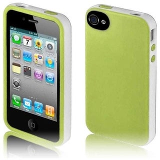 BasAcc Green/ White/ Black Case for iPhone 4GS/ 4G