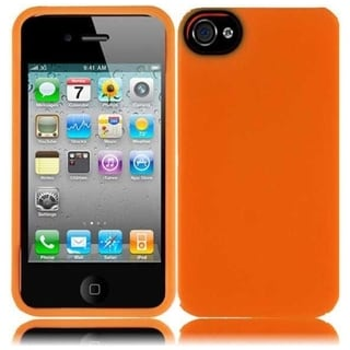 BasAcc Orange/ White/ Black Case for iPhone 4GS/ 4G