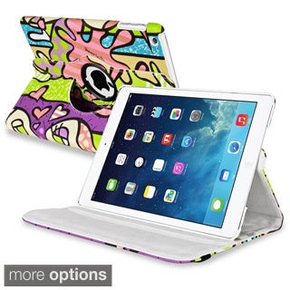 BasAcc 360-degree Swivel Stand Leather Case for Apple� iPad Air