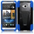 BasAcc Black/ Blue Case with Stand for HTC One M7