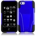 BasAcc Blue/ Black Case with Stand for Apple iPhone 5C
