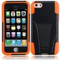 BasAcc Black/ Orange Case with Stand for Apple iPhone 5C