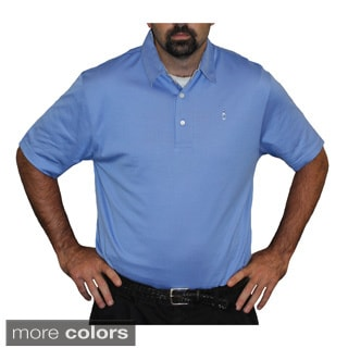 McIlhenny Dry Goods Tabasco Sportswear Men's Mini Check Trim Luxe Jersey Polo
