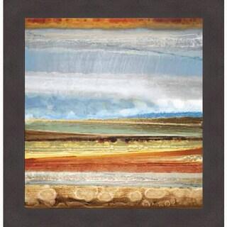 Selina Rodriguez 'Earth Layers II' Framed Art Print