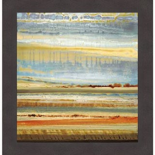 Selina Rodriguez 'Earth Layers I' Framed Art Print