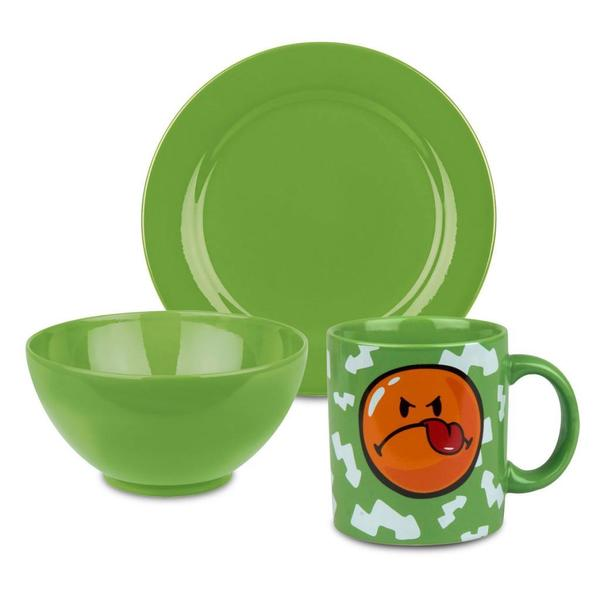 Waechtersbach Smiley Green Apple 3-piece Breakfast Set 12111687