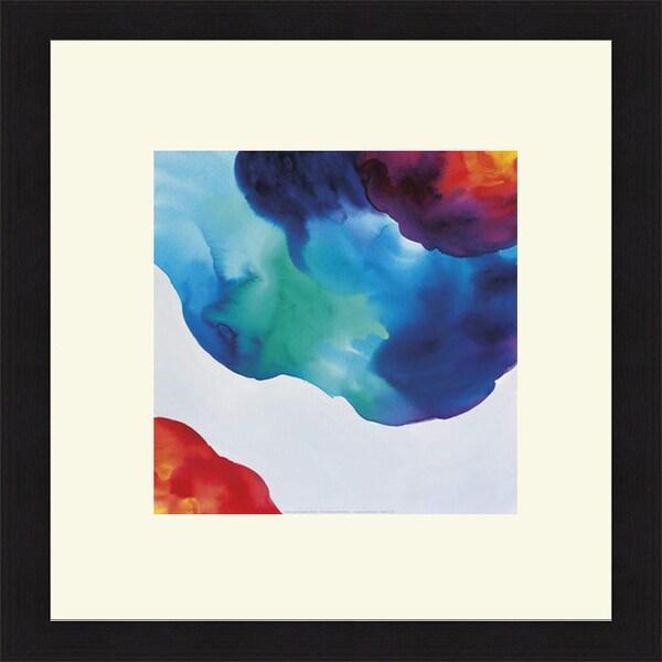 Deborah LaMotte 'Jewels, Aqua' Framed Art Print