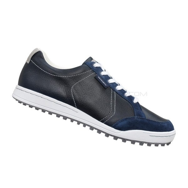 Ashworth Men's Cardiff Black/ White/ Navy Golf Shoes