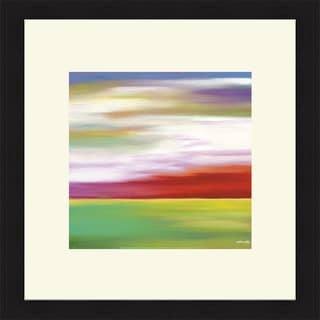 Mary Johnston 'Prairie Abstract 11' Framed Art Print