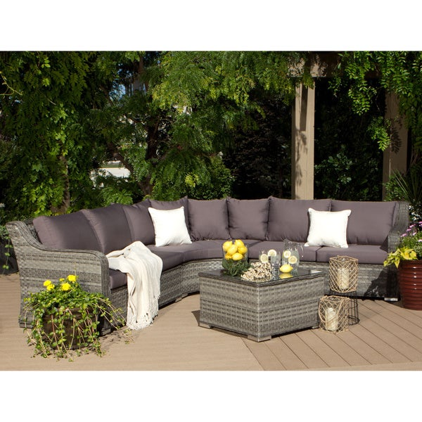 Cayman 4 piece outdoor sectional 80005223 shopping big discounts on i love - Outdoor sectionals for small spaces collection ...