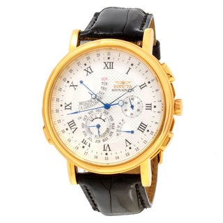 Invicta Men's Slightly Blemished 'Minute Repeater' Quartz Alarm Watch