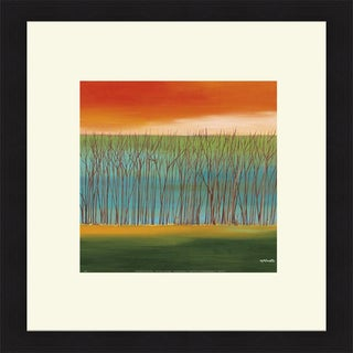 Mary Johnston 'Prairie Abstract 5' Framed Art Print