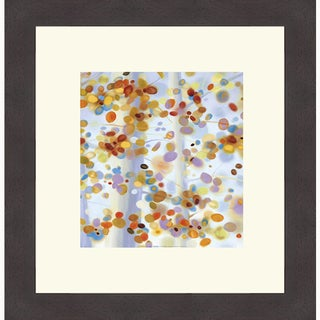 April Willy 'Exuberance I' Framed Art Print