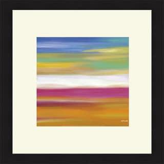 Mary Johnston 'Prairie Abstract 7' Framed Art Print