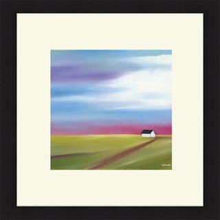 Mary Johnston 'Prairie Abstract 2' Framed Art Print