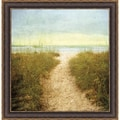 Donna Geissler 'Beach Dreams' Framed Art Print
