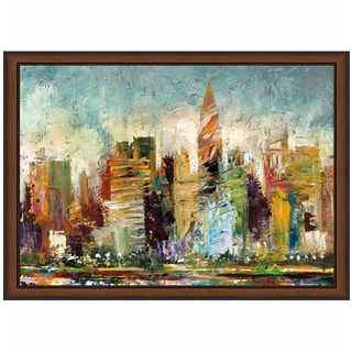 Bruce Marion 'Metropolis' Framed Art Print