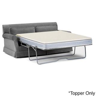 Select Luxury Reversible 1.5-inch Sofa Bed Sleeper Memory Foam Mattress Topper