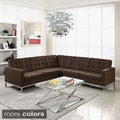 Wool L-Shaped Sectional Sofa