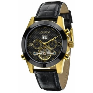 Porthos L'or Noir Carbone Men's Sapphire Automatic Watch