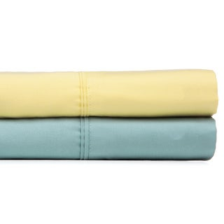 Outlast Sea Blue/ Yellow 350 Thread Count Sheet Set