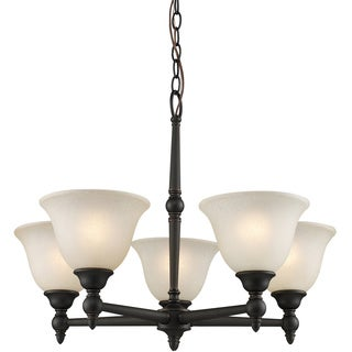 Z-Lite Bronze 5-light Chandelier