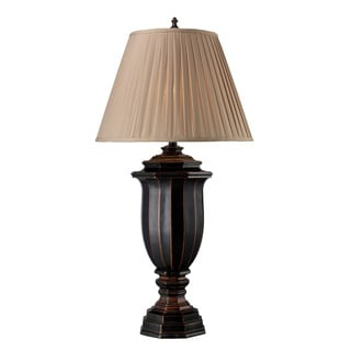 Belmont 1-light Italian Black LED Table Lamp