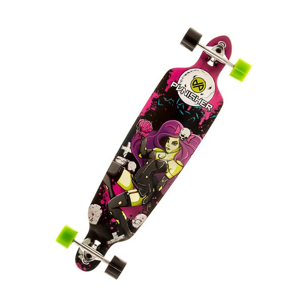 Punisher Skateboards 40-inch Zombie Longboard