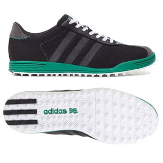 Adidas Men's Adicross II Mesh Black/ Grey/ Green Golf Shoes