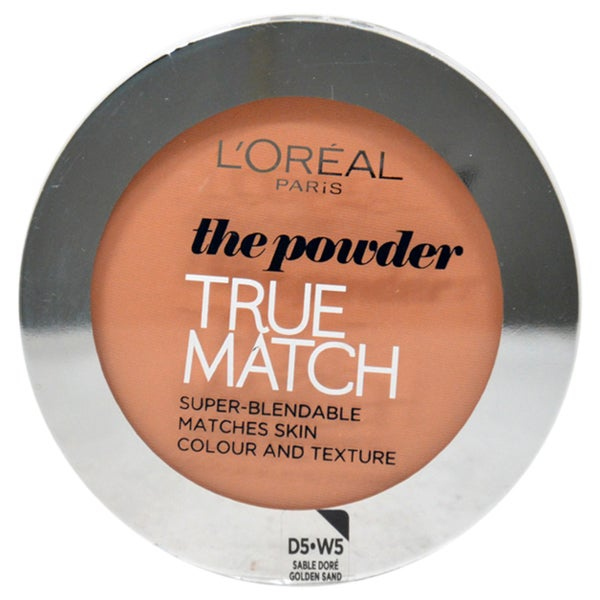L'Oreal Paris True Match Powder D5 W5 Golden Sand