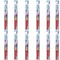 Colgate Triple Action #44 Adult Full Head Medium Toothbrush (Pack of 12)