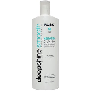 Rusk Deepshine Keratin Care Smoothing 12-ounce Shampoo