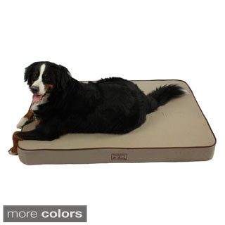 Washable 52-inch Orthopedic 3D Memory Foam X-Large Rectangle Lounger Dog Bed