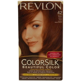 Revlon ColorSilk Beautiful Color #42 Medium Auburn Hair Color (1 Application)