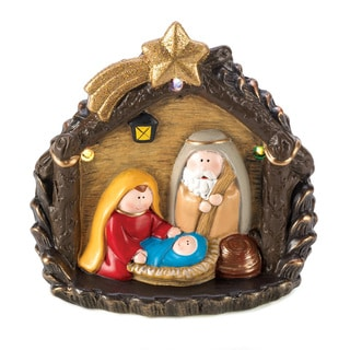 Large Lighted Nativity Figurine