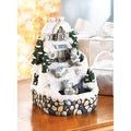Snowbuddies Musical Fountain Decorative Figurine