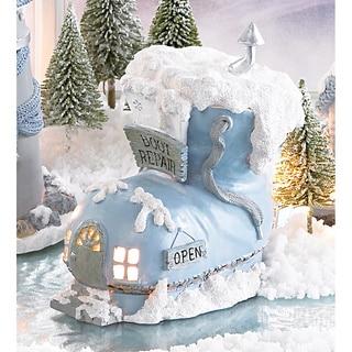 Snow Buddies Boot Repair Shop Figurine