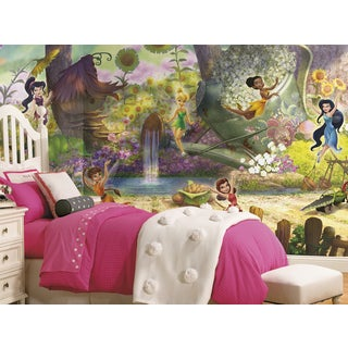Disney Fairies Pixie Hollow Mural (6'x10.5')