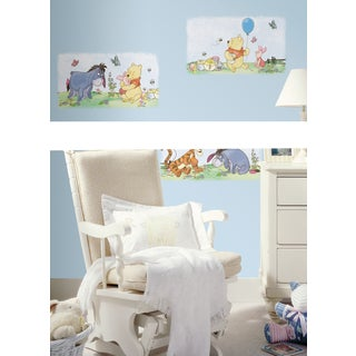 Winnie the Pooh Scenic Peel and Stick Wall Decals