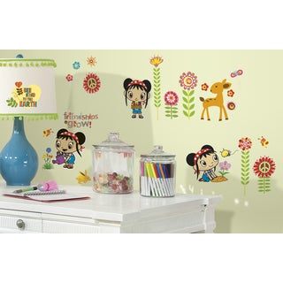 Kai Lan Peel and Stick Wall Decals
